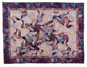 Adrienne's Purple Quilt
